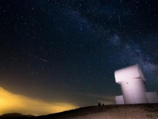 Photo Credit: Ανδρέας Μεσσήνης Το Παρατηρητήριο Αρίσταρχος σε υψόμετρο 2340m στον Χελμό
