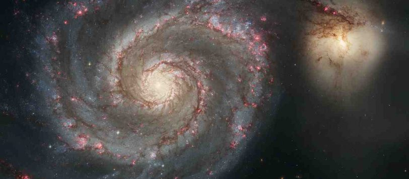 Ο Γαλαξίας της Δίνης ή Μ51 ή NGC 5194 είναι ένας σπειροειδής γαλαξίας με καθαρή δομή βραχιόνων. Είναι αρκετά διάσημος γαλαξίας, ο οποίος μαζί με τον συνοδό του παρατηρούνται από ερασιτέχνες αστρονόμους ακόμα και με κιάλια.
