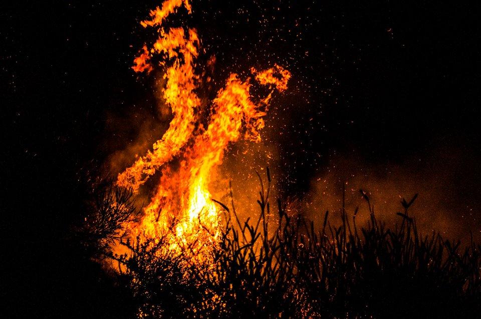 Φωτιά στην Ζάκυνθο στις 5 Ιουλίου 2014. Photo Credit: Last Reflection
