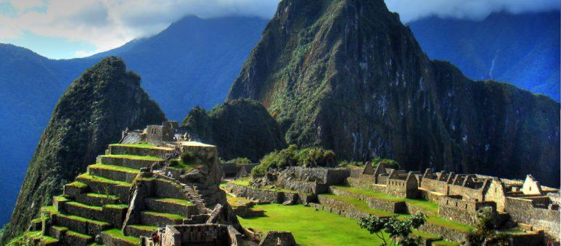 Αργά το απόγευμα στο Machu Picchu. Photo Credit: Dann Toliver