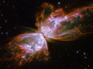 Το NGC 6302 γνωστό και ως νεφέλωμα Πεταλούδα είναι ένα διπολικό πλανητικό νεφέλωμα στον αστερισμό του Σκορπιού. Το κεντρικό αστέρι είναι ένας λευκός νάνος που ανακαλύφθηκε πρόσφατα (2009) από το διαστημικό τηλεσκόπιο Hubble.