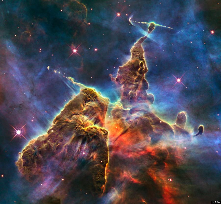 Ένα πλοίο φάντασμα πλέει μέσα στο διάστημα!! Απολαύστε το νεφέλωμα Καρίνα περίπου 6.500 με 10.000 έτη φωτός από την Γη!! Photo Credit: NASA