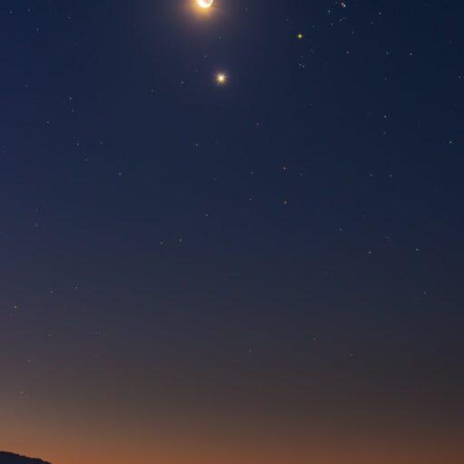 Σελήνη και Άρης