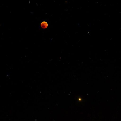 Σελήνη, Άρης και Ουρανός